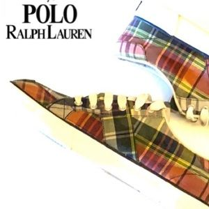 Polo by Ralph Lauren Canvas Plaid Sneaker